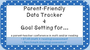 Parent-Friendly Data Tracker & Goal Setting