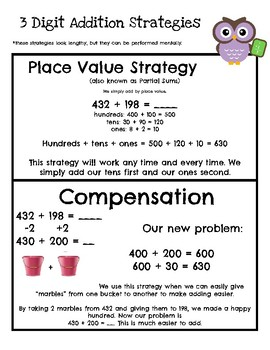 Parent Guide to Two Digit Addition