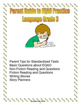 Parent Guide top EQAO grade 3 Language