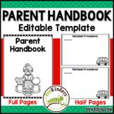 Parent Handbook - Editable