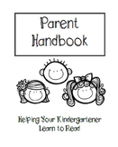 Parent Handbook for Kindergarten Reading