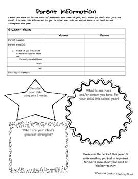 Parent Information 2