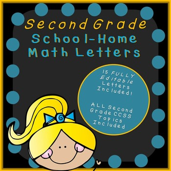 Parent Letters for Math-EDITABLE!