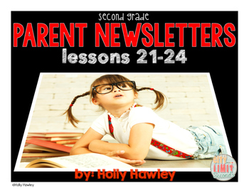 Parent Newsletters: Lessons 21-24 Grade 2