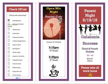 Parent Night Brochure