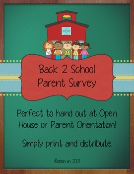 Parent Orientation Survey