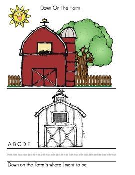 Parent Pack- Down On The Farm Alphabet Book