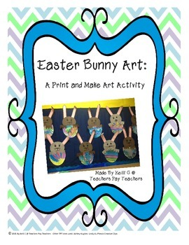 Parent Pack- Easter Bunny Art Packet
