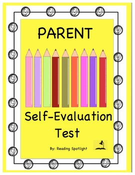 Parent Self-Evaluation Test