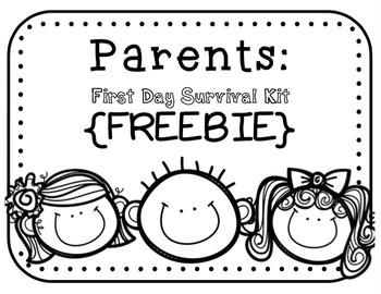 Parent Survival Kit {FREEBIE}