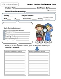 Parent Teacher Conf. Form
