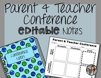 Parent Teacher Conference Documentation