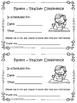 Parent Teacher Conference Form and Progress Report