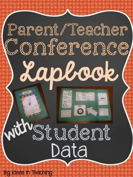 Parent Teacher Conference Foldable...Student Led