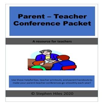 Parent Teacher Conference Resource Packet