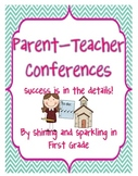 Parent Teacher Conferences {A Kit to Help you Succeed}