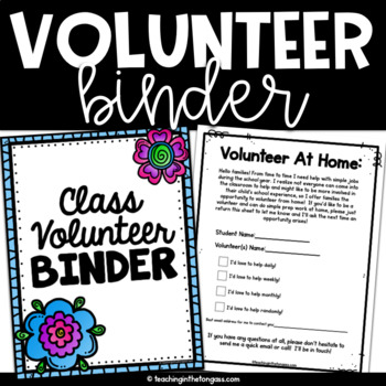 Parent Volunteer Binder Free