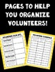 Parent Volunteer Forms! ~Wizard of Oz Theme~ Great for Beg