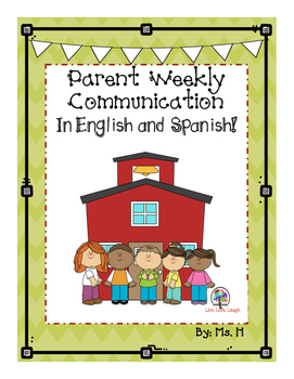 Parent Weekly Communication in English and Spanish