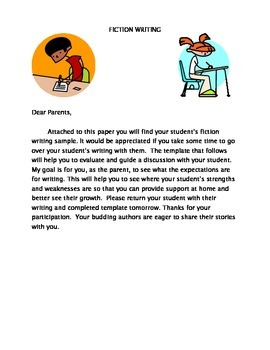Parent Writing Rubrics for Both Fiction and Nonfiction