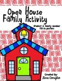 Parent/Child Open House Activity