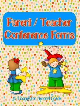 Parent/Teacher Conference Pack