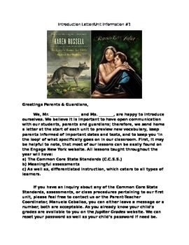 Parental Newsletter Romeo and Juliet & St. Lucys