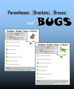 (Parentheses), [Brackets], {Braces} and BUGS