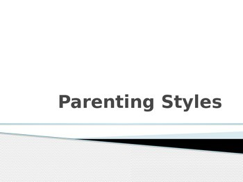 Parenting Styles and Discipline