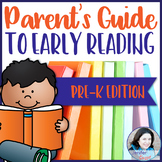 Parent's Guide to Early Reading: Pre-K Edition