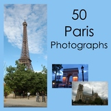 Paris Photographs for Commercial Use