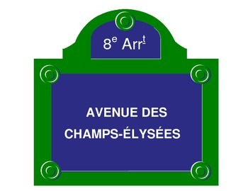 Paris Street Signs for French Teachers & Multicultural Day!