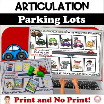 Articulation Parking Lots: Early Developing Sounds