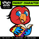 Parrot Digital Clipart