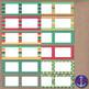 Parrot Feathers Clip Art Chevron Polka Dot & Striped Post-