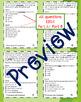 Part A/Part B Context Clues Task Cards 4th Grade