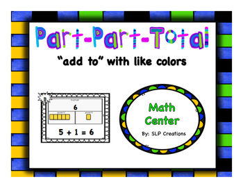 Part-Part-Total With Like Colors