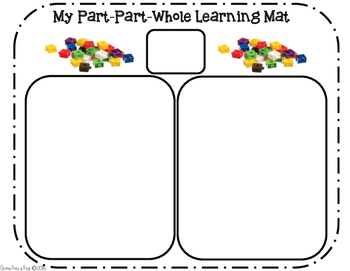Part-Part-Whole Learning Mat