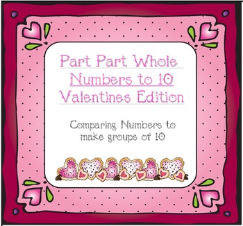 Practicing Part Part Whole Numbers to 10 During February (