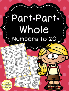 Part Part Whole - Numbers to 20
