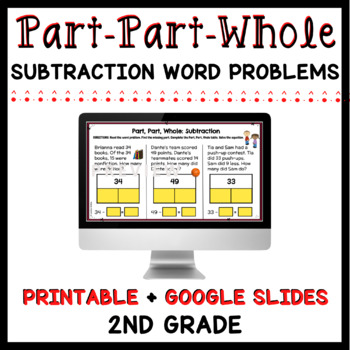 Part, Part, Whole: Subtraction