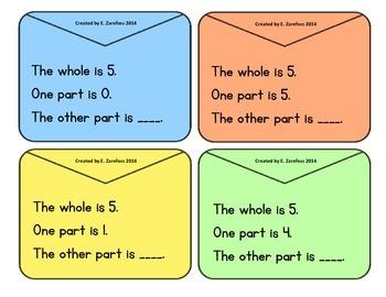 Part, Part, Whole: Word Problems 5-10