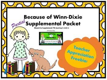 Partial Because of Winn-Dixie Supplement Pack