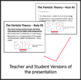 Particle Theory and Classification of Matter - PowerPoint