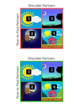 Partner Cards for Cooperative Grouping