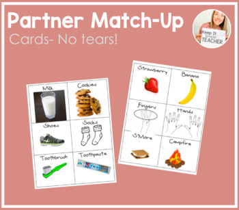 Partner Match-Up Cards (Without Tears!)