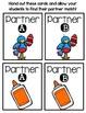 Partner Pairs - August