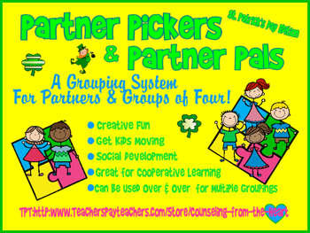 Partner Pickers & Partner Pals, St. Patrick's Day, A Group