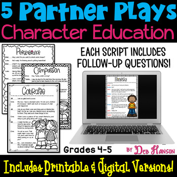 Partner Plays: Character Education