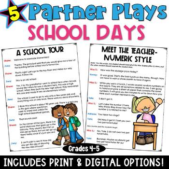 Partner Plays: School Days